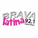 Logo da emissora Radio Brava Latina 92.1 FM