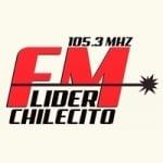 Logo da emissora Radio Líder 105.3 FM