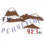Logo da emissora Radio Pehuenche 92.3 FM