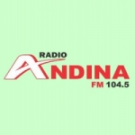 Logo da emissora Radio Andina 104.5 FM