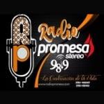 Logo da emissora Radio Promesa 98.9 FM