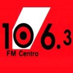 Logo da emissora Radio Centro 106.3 FM