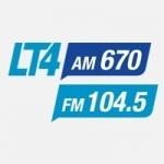 Logo da emissora Radio Difusora 670 AM