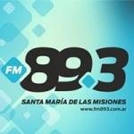 Logo da emissora Radio Santa María 89.3 FM