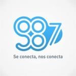 Logo da emissora Radio Universidad 98.7 FM