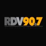 Logo da emissora Radio RDV 90.7 FM