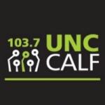 Logo da emissora Radio Uncocalf 103.7 FM