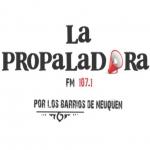 Logo da emissora Radio Propaladora 107.1 FM