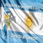 Logo da emissora Radio Argentina 98.9 FM