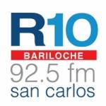 Logo da emissora Radio 10 92.5 FM