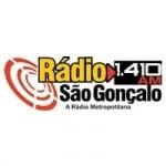 Logo da emissora Rádio São Gonçalo 1410 AM