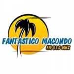 Logo da emissora Radio Fantastico Macondo 91.5 FM