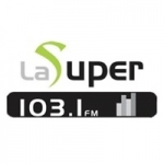 Logo da emissora Radio La Super 103.1 FM