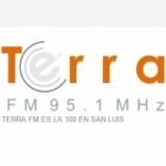 Logo da emissora Radio Terra 95.1 FM