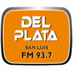 Logo da emissora Radio Del Plata 93.7 FM