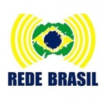 Logo da emissora Rede Brasil 106.1 FM