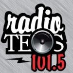Logo da emissora Radio Teos 101.5 FM