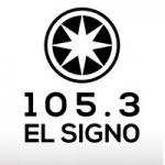 Logo da emissora Radio El Signo 105.3 FM
