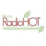 Logo da emissora Radio Hot 102.5 FM