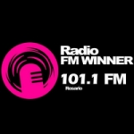 Logo da emissora Radio Winner 101.1 FM