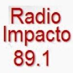 Logo da emissora Radio Impacto 89.1 FM