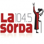 Logo da emissora Radio La Sorda 104.5 FM