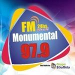 Logo da emissora Radio Monumental 97.9 FM