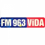 Logo da emissora Radio Vida 96.3 FM