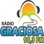 Logo da emissora Rádio Graciosa 98.3 FM
