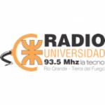 Logo da emissora Radio Universidad 93.5 FM