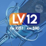 Logo da emissora Radio LV12 105.1 FM 590 AM