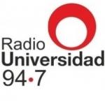 Logo da emissora Radio Universidad 94.7 FM