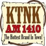 Logo da emissora Radio KTNK 1410 AM