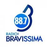 Logo da emissora Radio Bravissima 88.7 FM