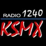 Logo da emissora KSMX 1240 AM
