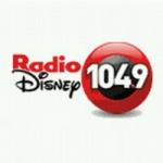 Logo da emissora Radio Disney 104.9 FM