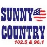 Logo da emissora KSNI 102.5 FM Sunny Country