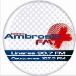 Logo da emissora Radio Ambrosio 90.7 FM