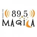 Logo da emissora Radio Mágica 89.5 FM