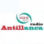Logo da emissora Radio Antillanca 103.5 FM