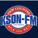 Logo da emissora KSON 92.1 - 97.3 FM