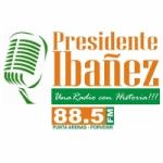 Logo da emissora Radio Presidente Ibañez 88.5 FM
