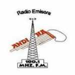 Logo da emissora Radio Andina 100.1 FM