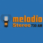 Logo da emissora Radio Melodía Stereo 730 AM