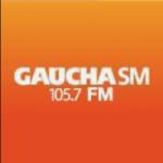 Logo da emissora Rádio Gaúcha 105.7 FM
