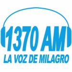 Logo da emissora Radio La Voz De Milagro 1370 AM