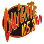Logo da emissora Radio Caliente 105.3 FM