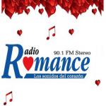 Logo da emissora Radio Romance 90.1 FM