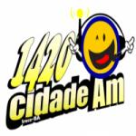 Logo da emissora Rádio Cidade 1420 AM