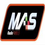 Logo da emissora Radio Mas 95.5 FM